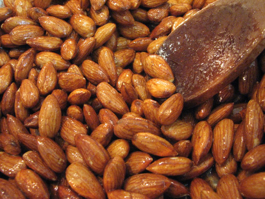 Toss with Almonds